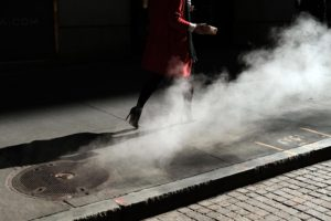 Red Coat and Steam