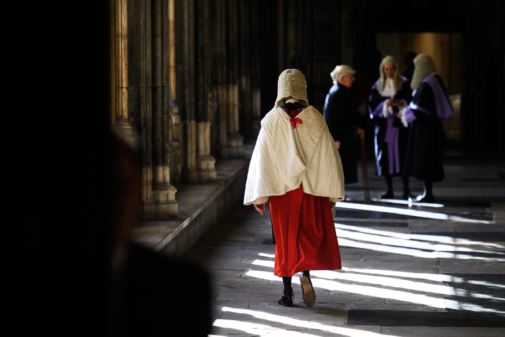 Judges Service at Westminster Abbey fine art photography