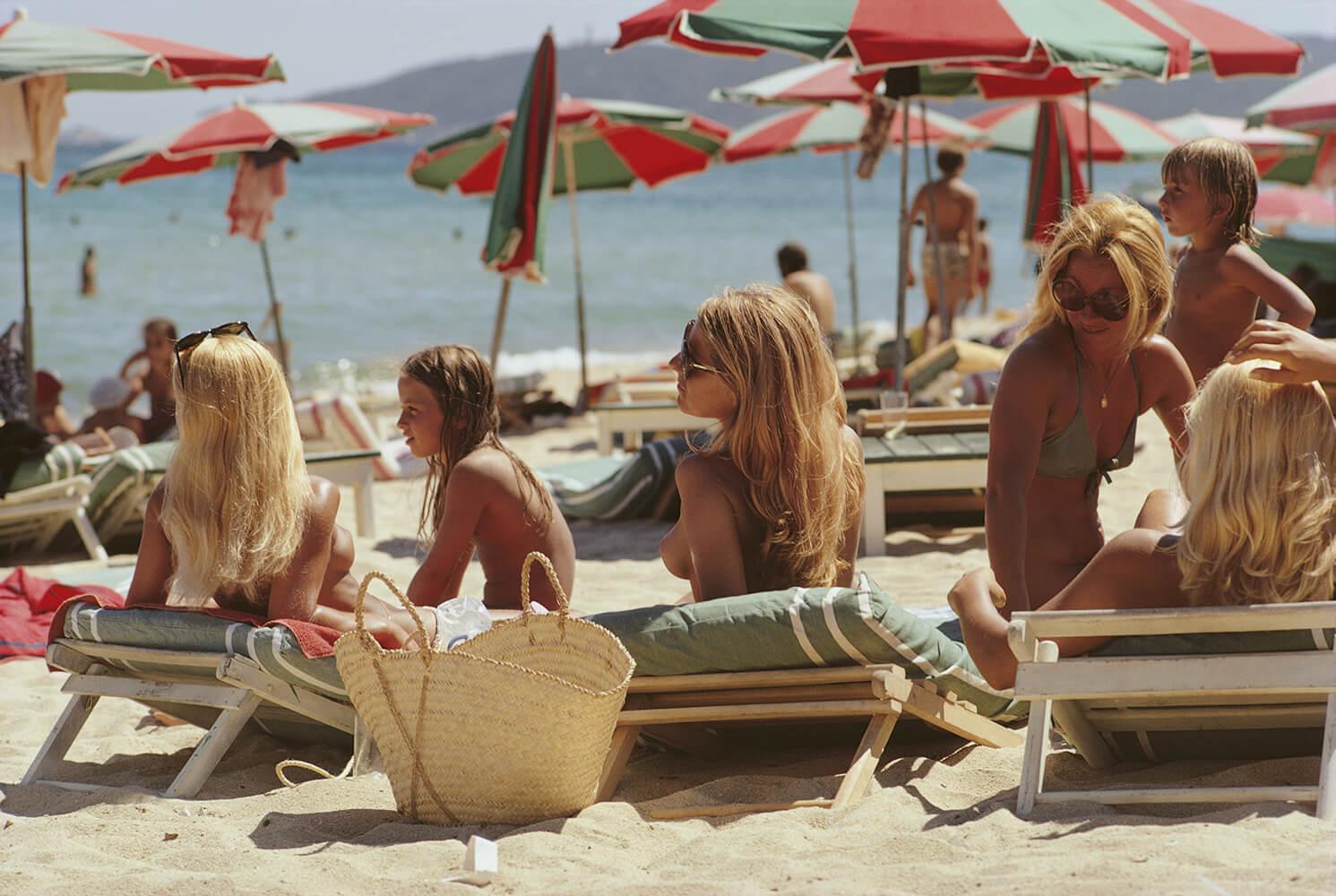 Saint-Tropez Beach fine art photography