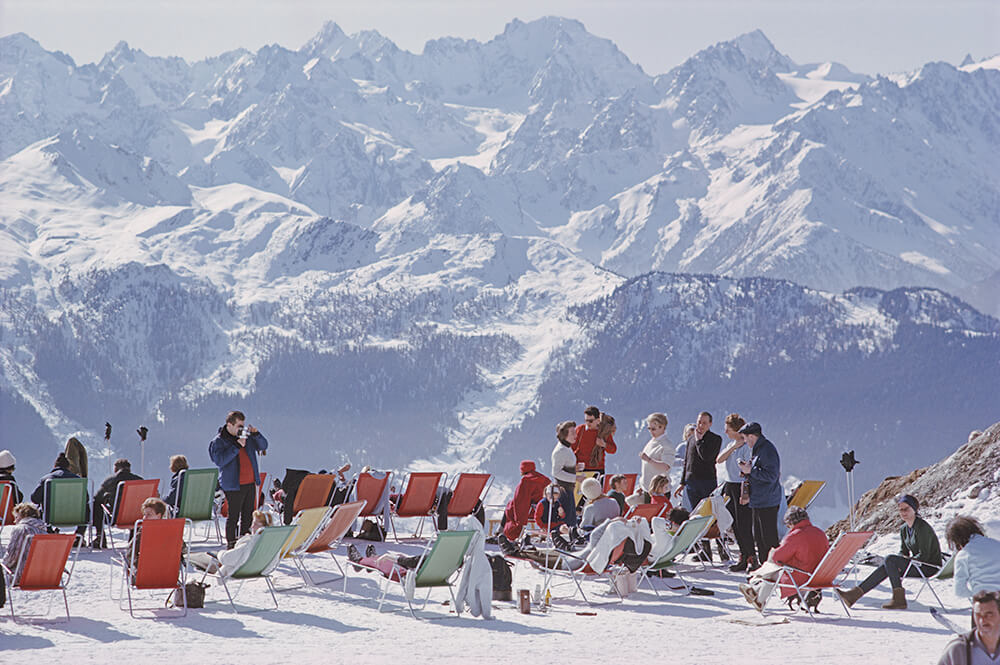 Lounging In Verbier fine art photography