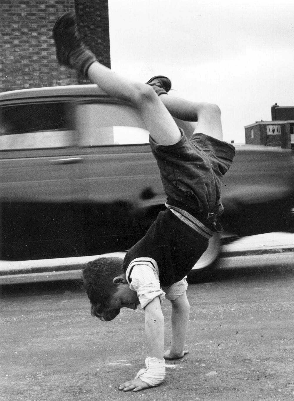 Handstand fine art photography
