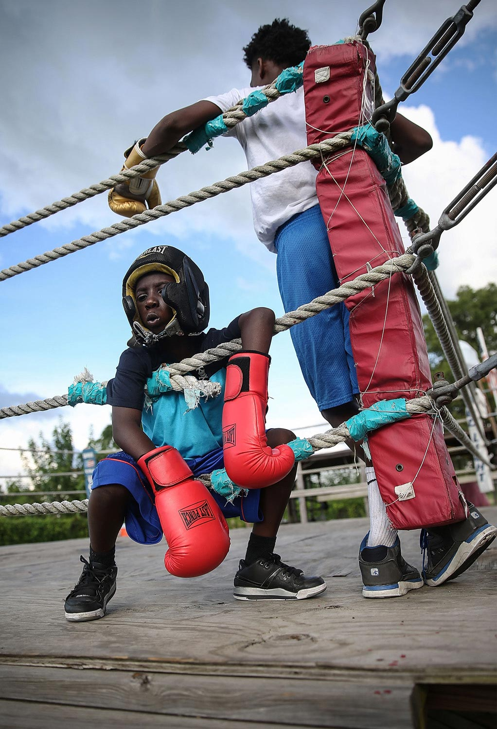 Young Boxers fine art photography