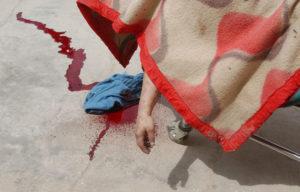 Slain Woman in Baghdad