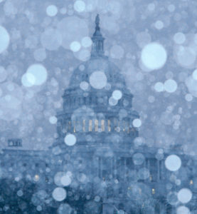 Storm Descends on Washington
