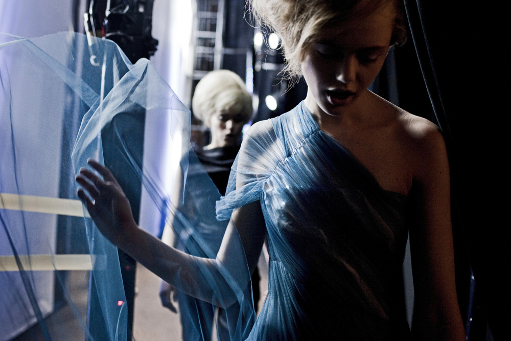 Models in Blue fine art photography