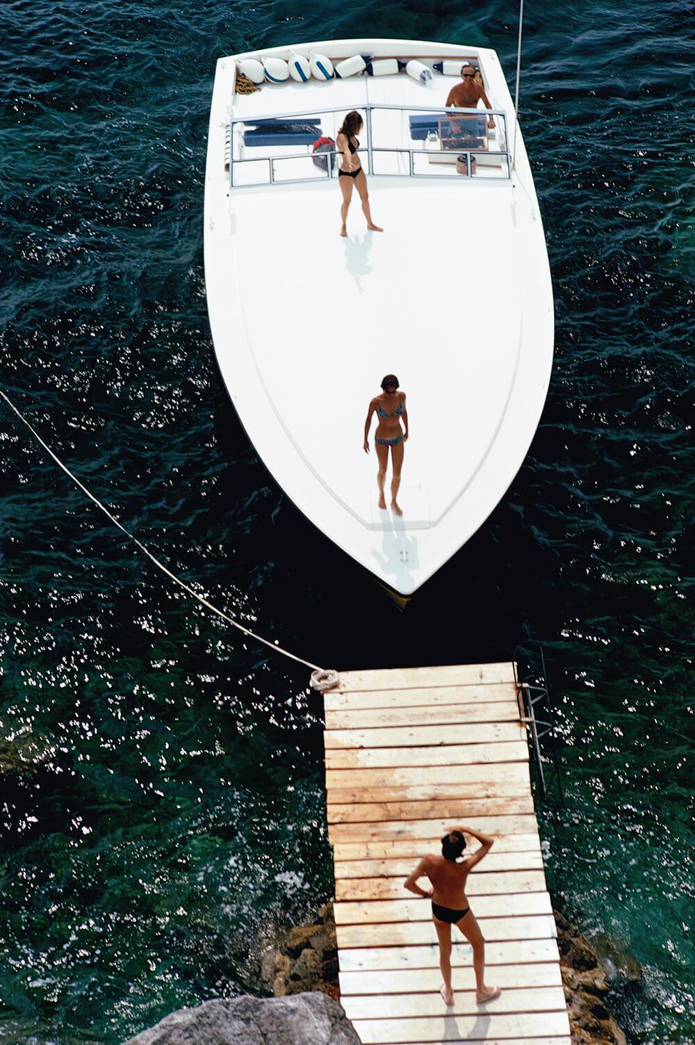 Speedboat Landing fine art photography