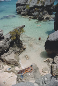 On The Beach In Bermuda
