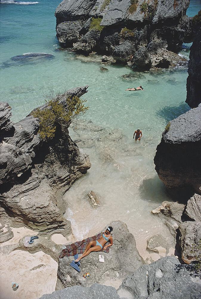 On The Beach In Bermuda fine art photography