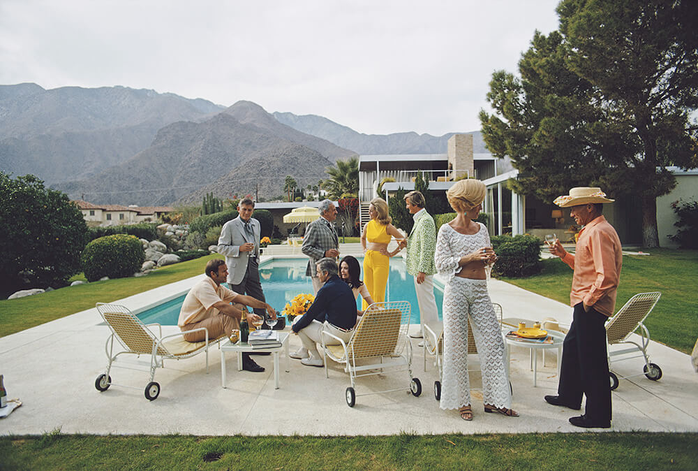 Desert House Party fine art photography