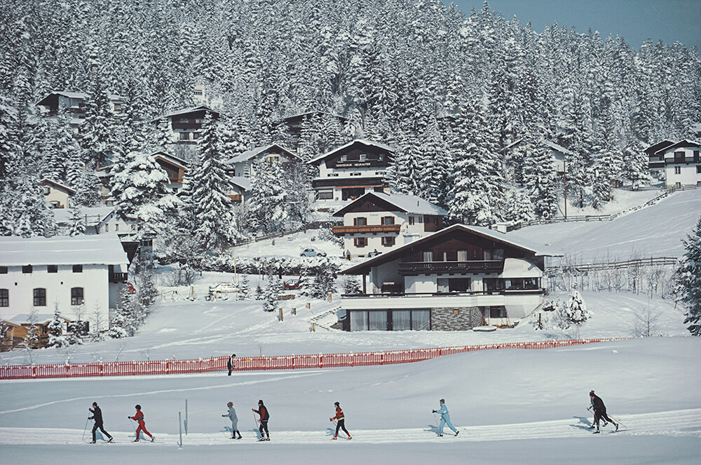 Skiing In Seefeld fine art photography