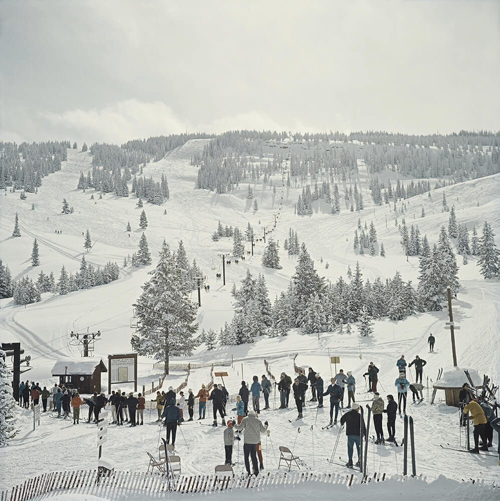 Skiing In Vail fine art photography