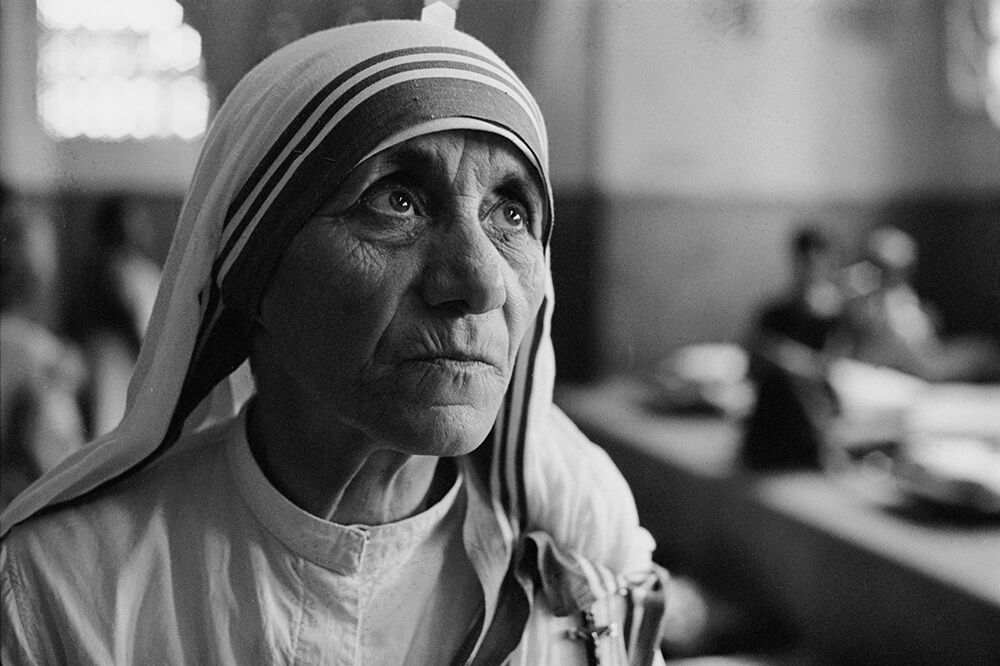 Mother Teresa fine art photography
