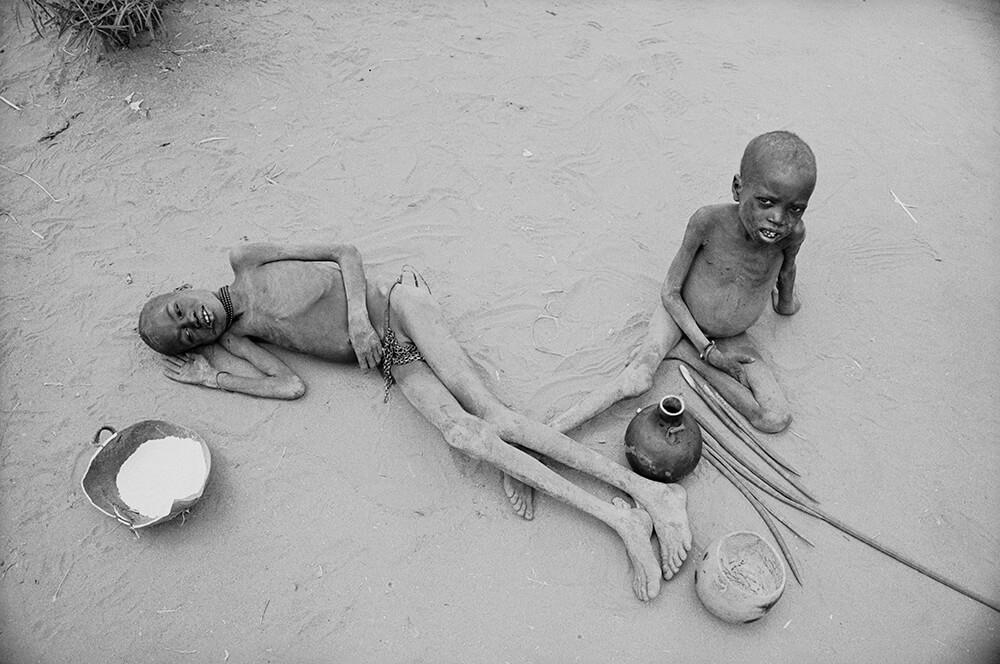 Starving Children fine art photography