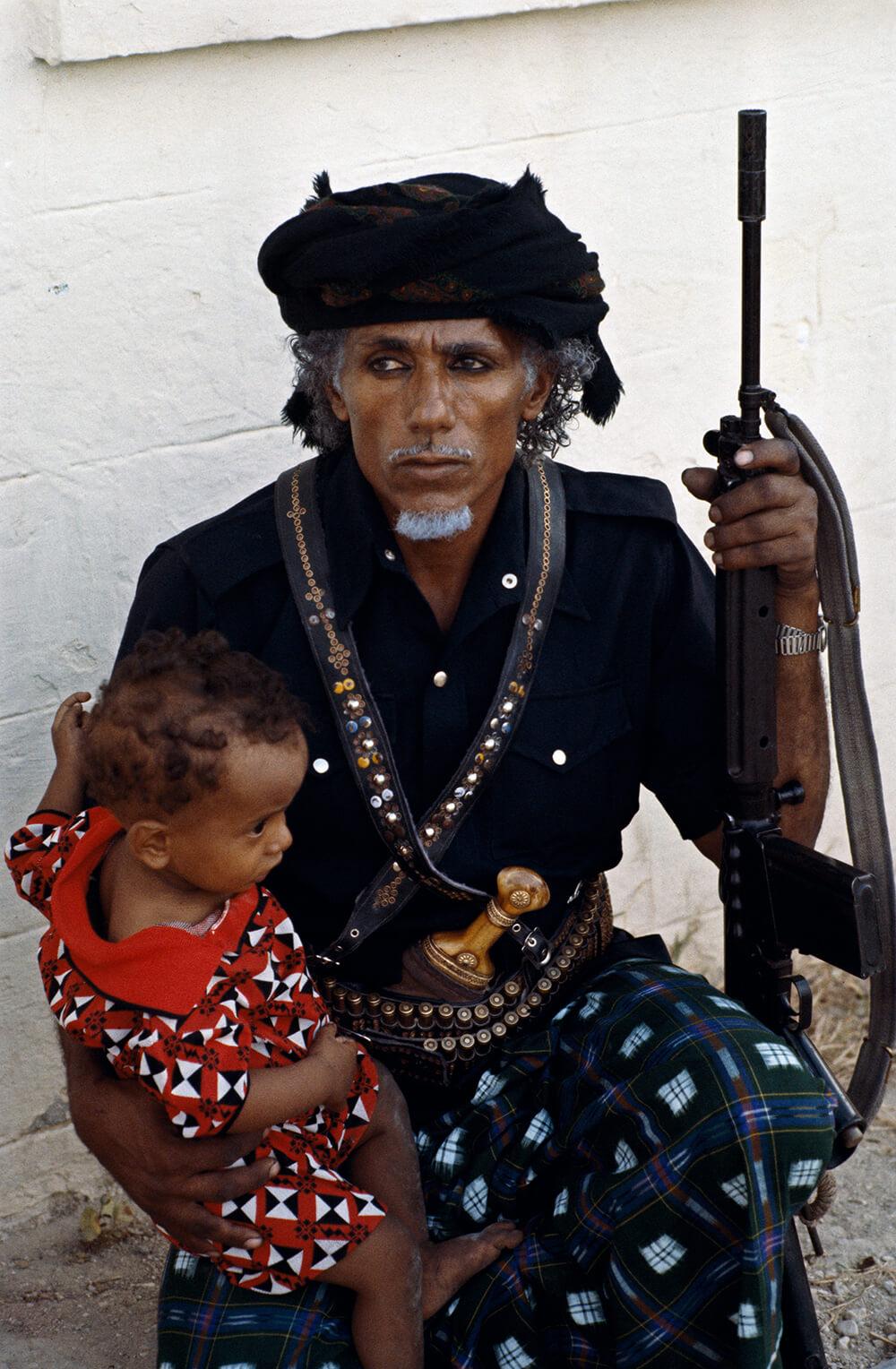 Omani Man And Child fine art photography