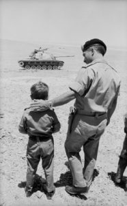 King Hussein And Son