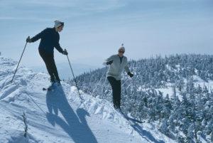Skiers At Sugarbush