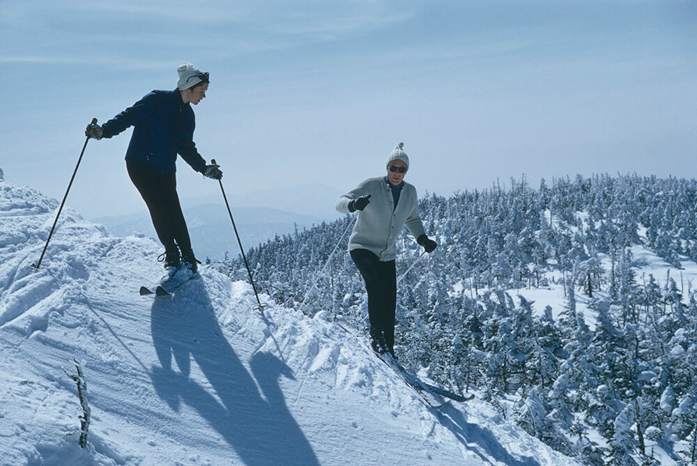 Skiers At Sugarbush fine art photography