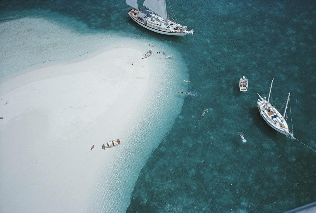 Slim Aarons Beach