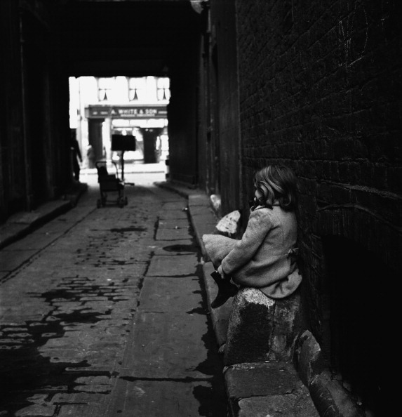 Child In Alleyway – Signed Edition fine art photography