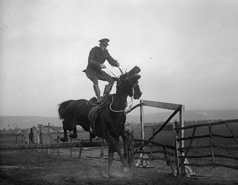 Saddle Standing fine art photography