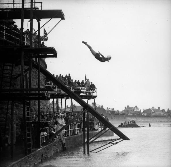 Diving Champion fine art photography