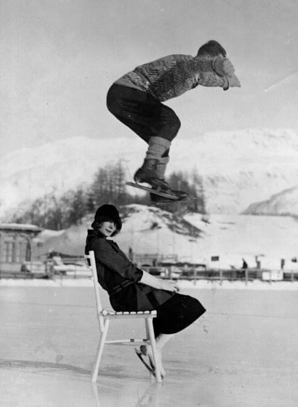 Chair Skate Leap fine art photography
