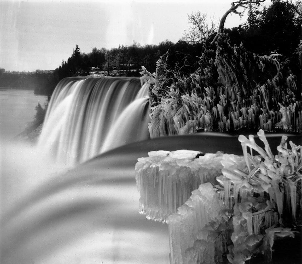 Frozen Falls fine art photography