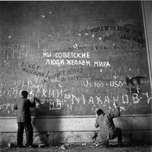 Chancellery Graffiti – Signed Edition