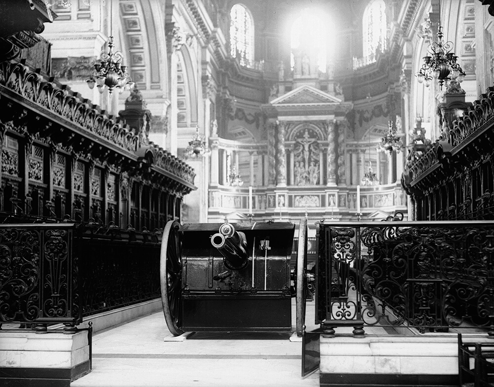 A Gun In God's House from World War I: UK Home Front fine art photography