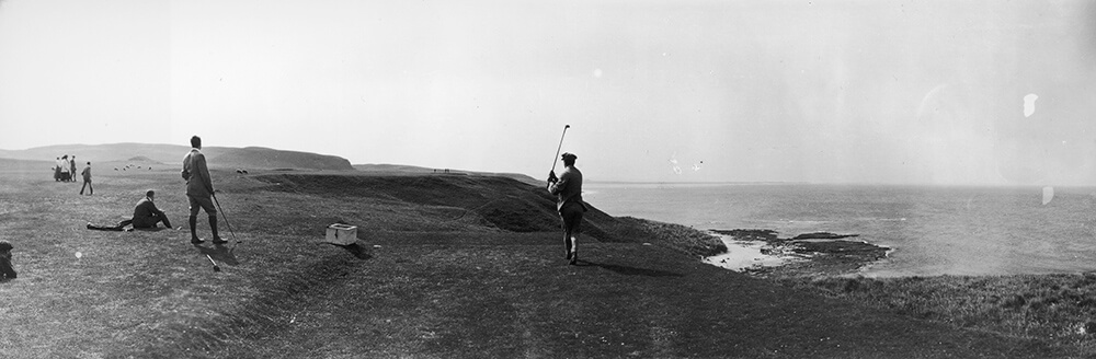 Golf By The Sea fine art photography