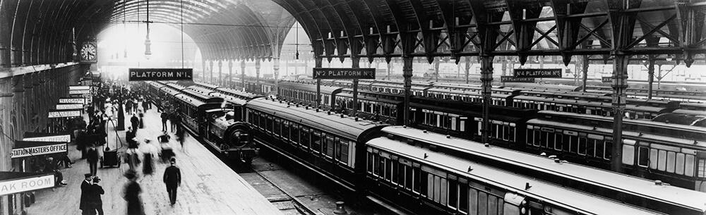 Paddington Station fine art photography