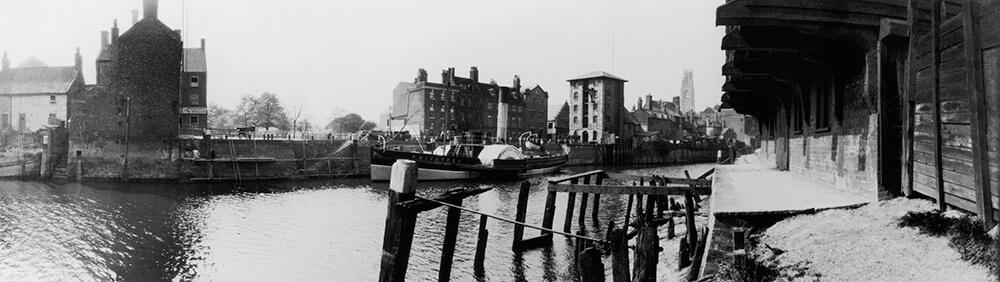 Boston Riverside fine art photography