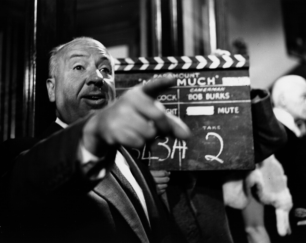 Alfred Hitchcock fine art photography