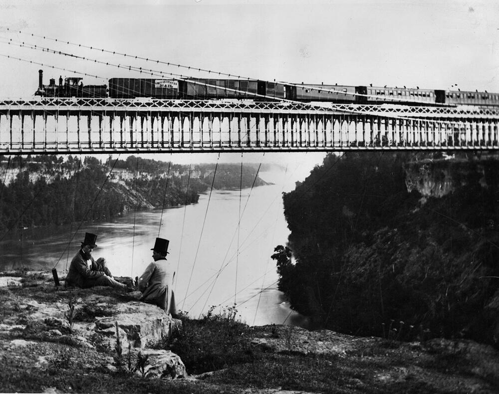 Suspended Railway fine art photography