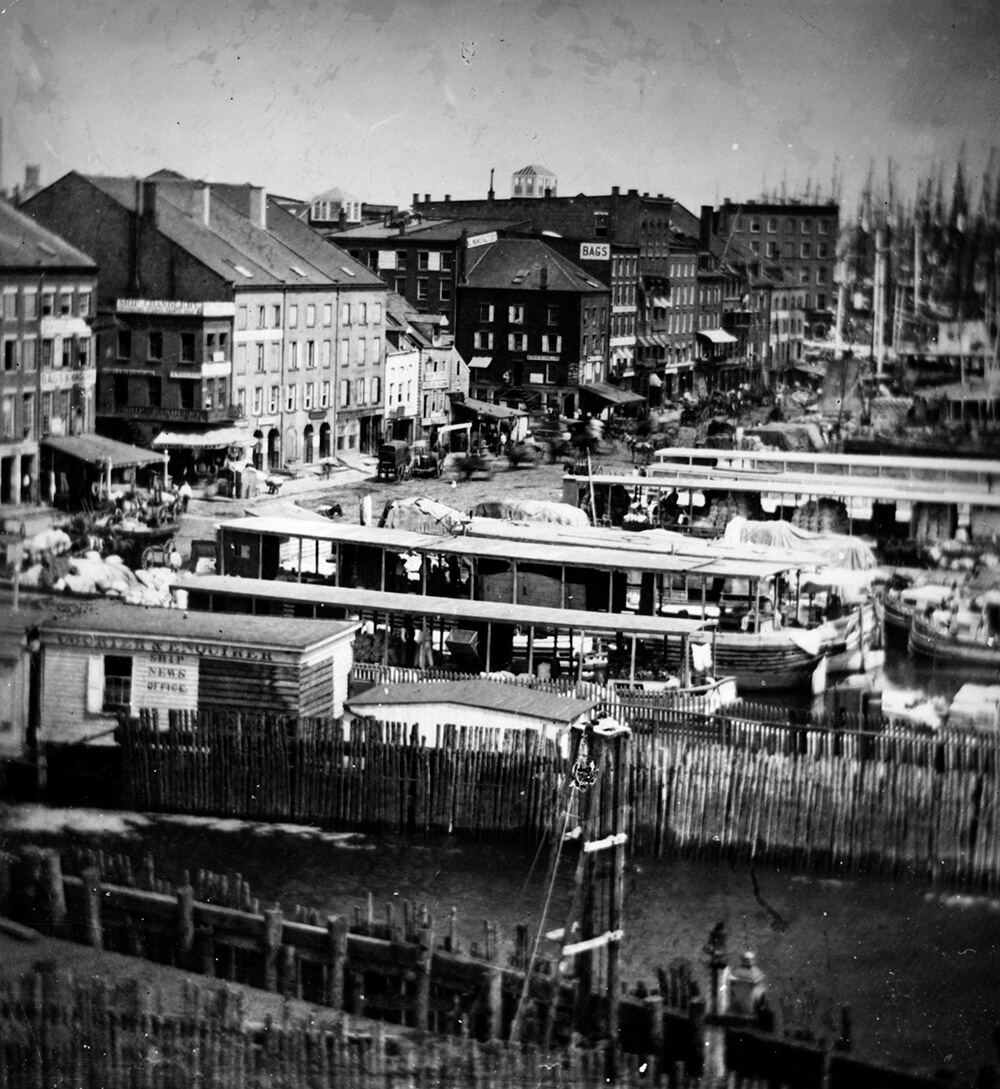 New York Quay from Global Cities fine art photography