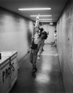 Backstage Tightrope
