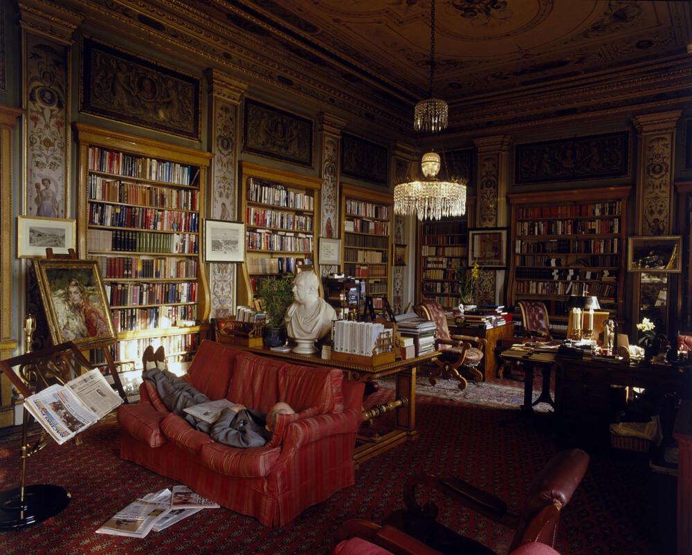 Chatsworth Library fine art photography