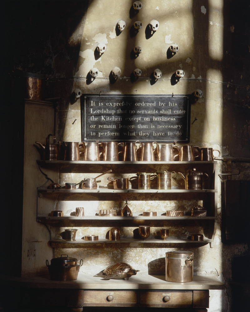 Burghley Kitchen fine art photography