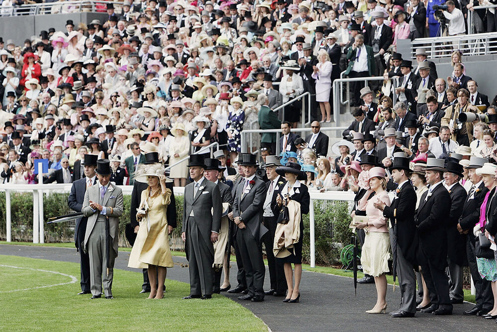 Royals Attend The First Day of Royal Ascot Races fine art photography