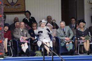 Royals At Braemar Games Highland Gathering