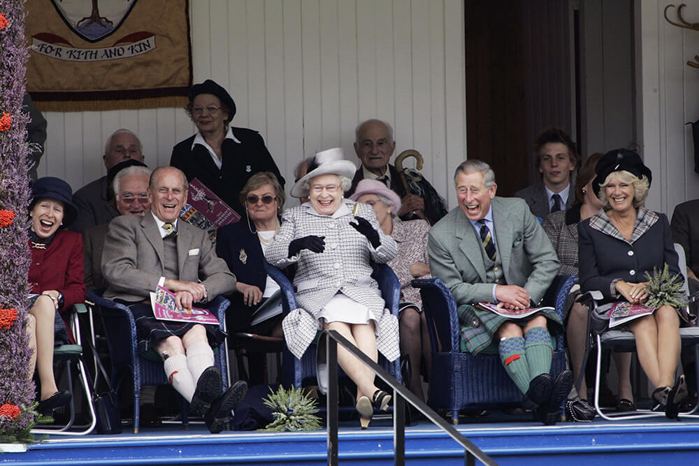 Royals At Braemar Games Highland Gathering fine art photography