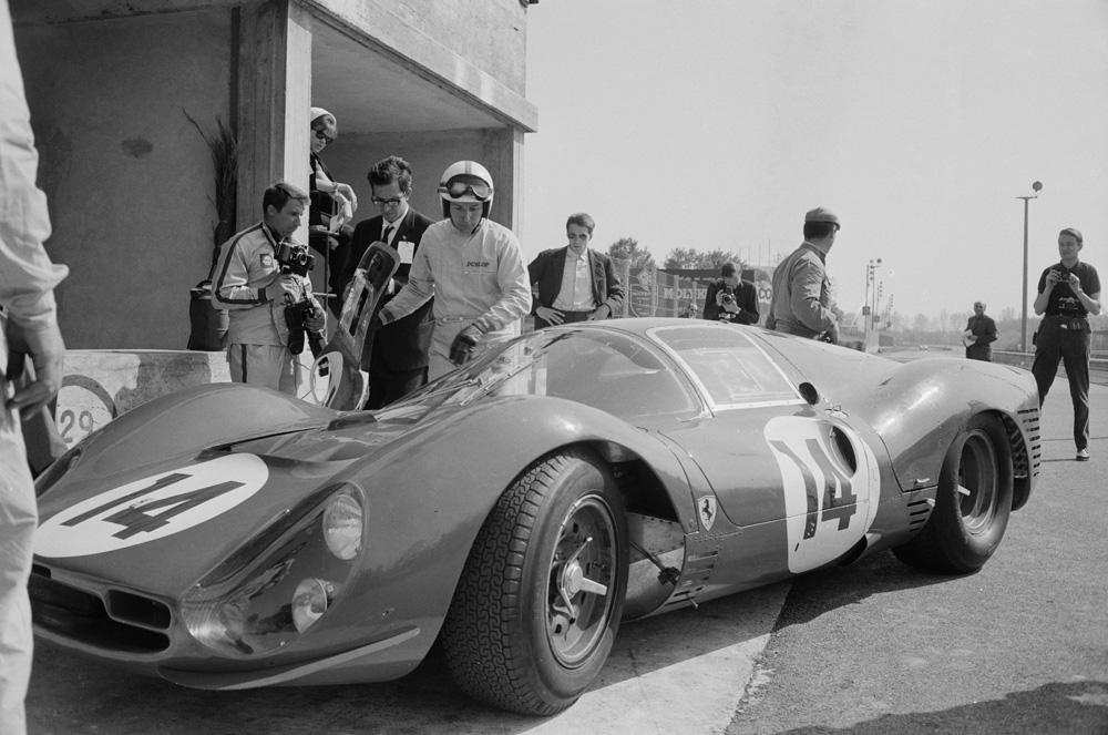 Surtees Tests Ferrari fine art photography