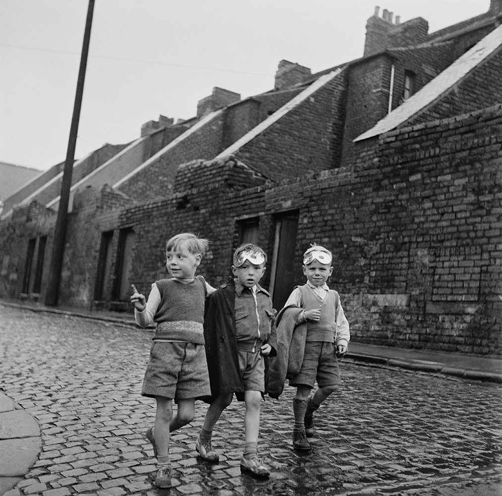 Tyneside Boys fine art photography