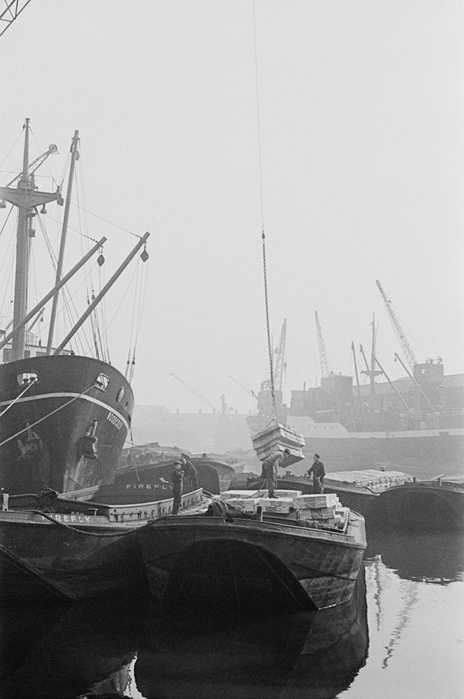 Loading Barge fine art photography