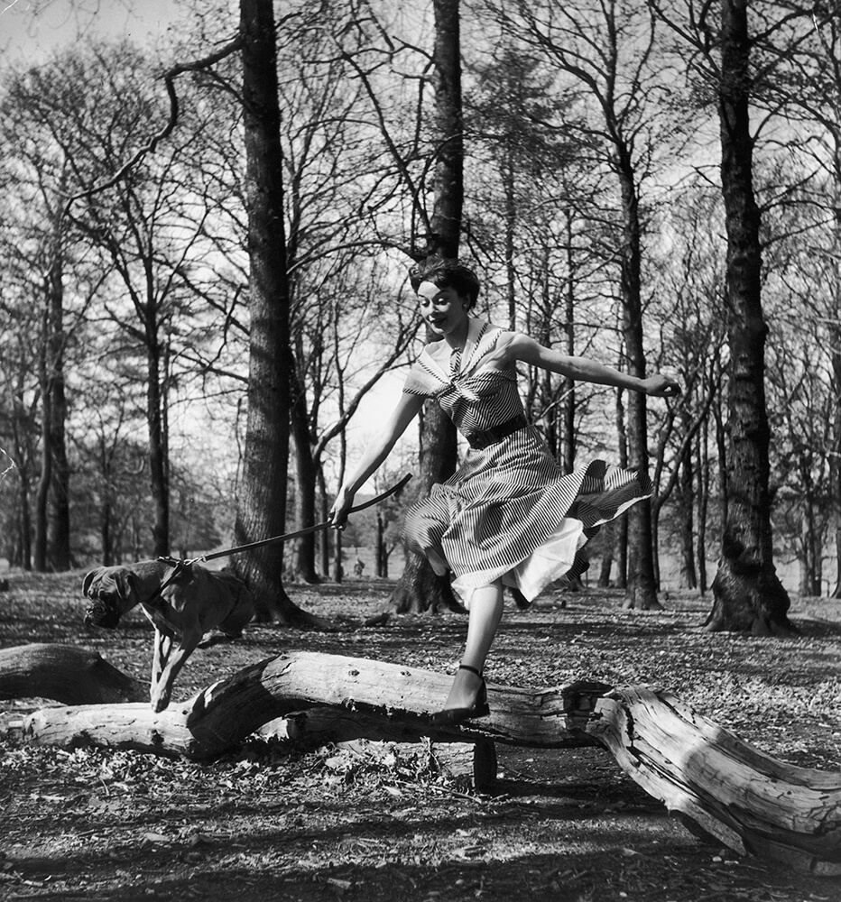 Leaping Audrey fine art photography