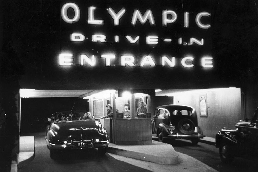 Drive-In Cinema fine art photography