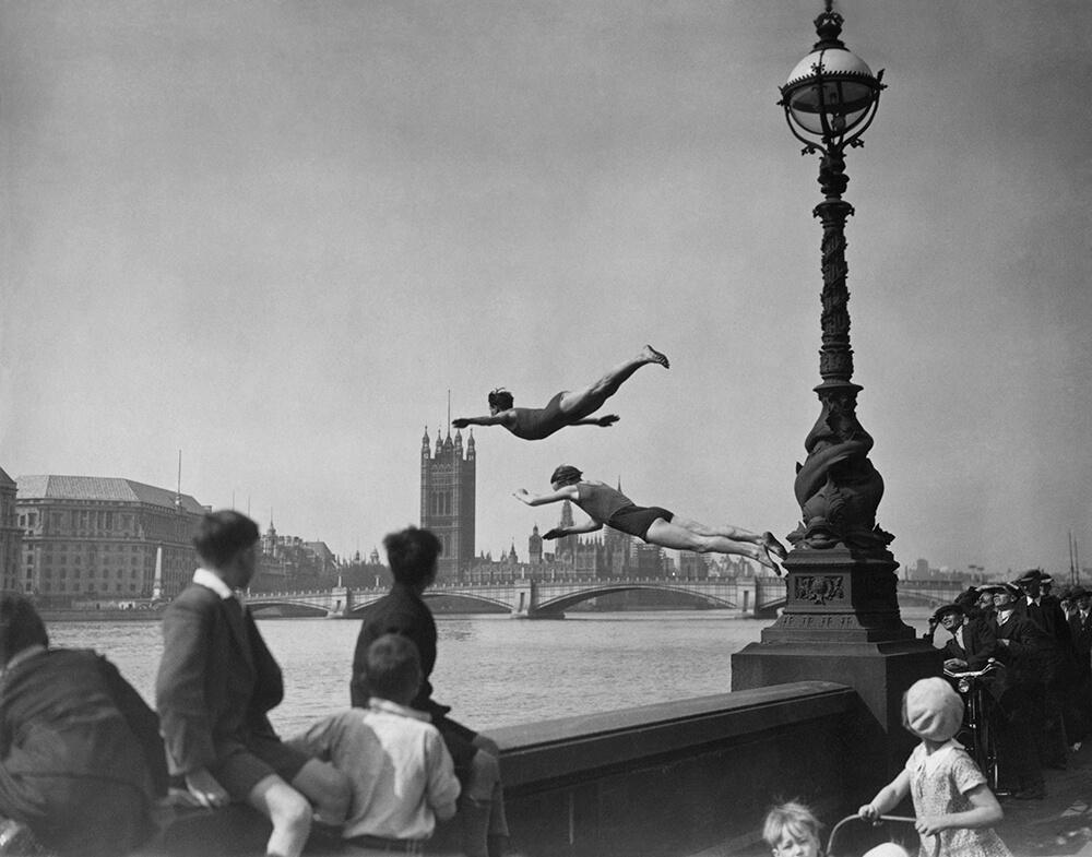Thames Divers fine art photography