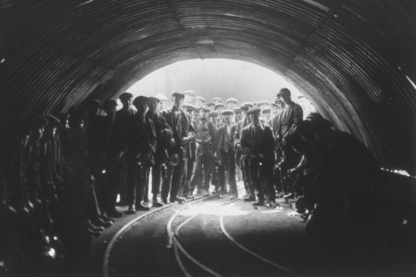 Miners fine art photography