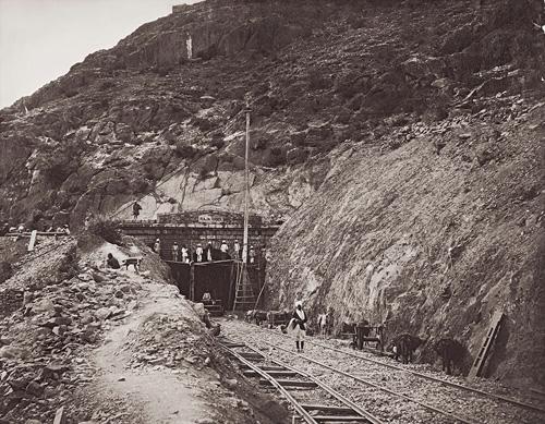 Indian Railway Tunnel fine art photography