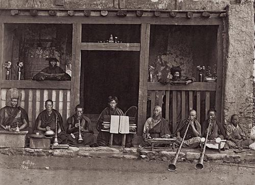 Buddhist Music fine art photography